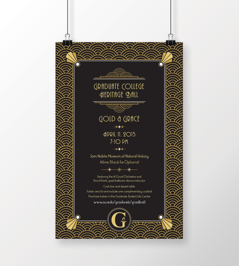 Gold & Grace Poster