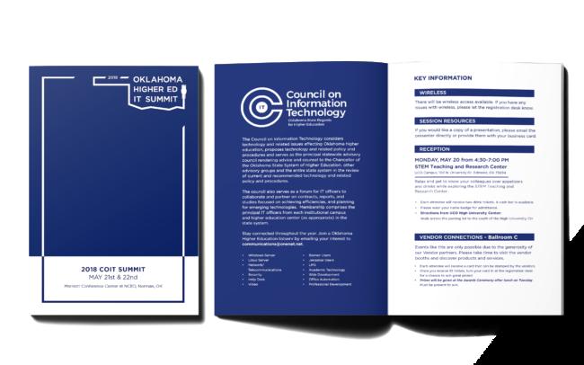 Agenda Cover & Interior Spread