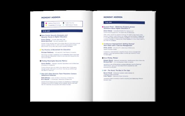 Agenda Spread Pages 5 & 6